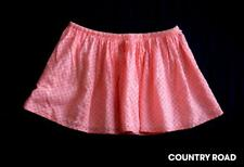 COUNTRY ROAD girls lined skirt orange sunset childrens summer clothes size 3 4 5