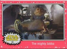 Star Wars JTTFA Neon Parallel Base Card #63 The mighty Jabba