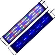 60-80cm Full Spectrum Lighting Aquarium LED Reef Coral Marine Fish Tank Lights