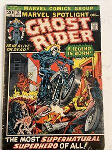 Marvel Spotlight #5 Marvel 1972 Origin & 1st Appearance of Ghost Rider