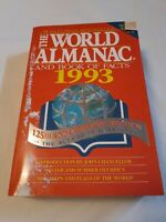 The World Almanac and Book of Facts, 1993 125th Anniversary Edition *ROUGH*