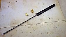 """28"""" Lance Wand Zinc Plated Extension WITH COUPLERS Pressure Power Washer 5000psi"""
