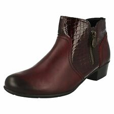 Remonte Ladies Smart Ankle Boots D3574
