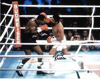 Roberto Duran Autographed 11x14 Photo Signed Sugar Dual Punch - Beckett BAS