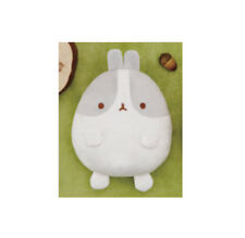 NEW Fans Molang Gray and White Rabbit Stuffed Plush Mascot 18cm SS9173 US Seller