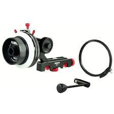 FILMCITY HS-2 Camera Follow Focus with Hard Stop for DSLR DV Video Shoulder Rig