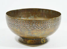18/19th ANTIQUE ARABIC ISLAMIC PERSIAN QAJAR COPPER TINNED BOWL