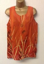 Women's V Neck Semi Fitted Petite Vest Top, Strappy, Cami Tops & Shirts