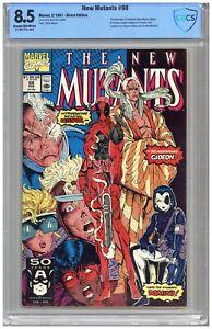 New Mutants  # 98  CBCS   8.5  VF+   Cream/off wht pgs   2/91  1st App. of Deadp