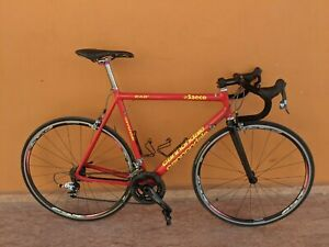 "Cannondale CAAD3 Team Saeco size ""L"" Sram Red 10 Speed , FSA wheels ."