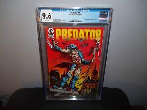 PREDATOR #1 CGC 9.6 NM 1st First Appearance in Comics 1989!! First Print! HOT!