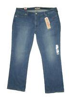 Levis Womens 415 Classic Bootcut Stretch Denim Jeans Blue Sunday Size 24W New