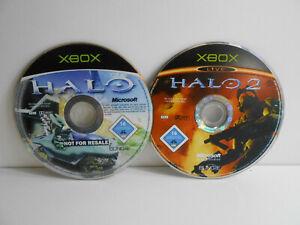 Halo 1 + 2 für Microsoft Xbox (nur Disc)