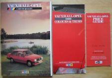 Vauxhall Manta Car Sales Brochures