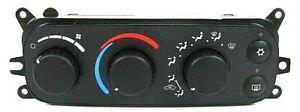 02-05 DODGE CLIMATE CONTROL RAM DAKOTA DURANGO MAX HEATER A/C TEMP P55056246AC