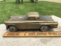 1955  Ford T-Bird Bank , 1974 Banthrico Vintage Brass