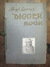 Daryl Lindsay's DIGGER BOOK,Anzac,WW I Artwork,C.E.W.Bean,Melb.1919,Norman,GC.