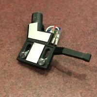 Turntable Parts - Straight Tone Arm Head Shell w/ Hardware and Wires