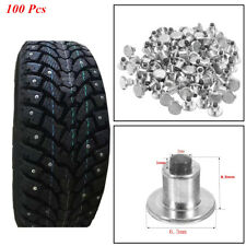 100 Pcs Auto Car Wheel Tire Studs Screws Snow Spikes Non-slip For Winter Durable