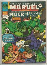 Mighty World of Marvel / Incredible Hulk : comic book #325 from December 1978
