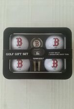 Boston Red Sox Golf Ball / Divot Tool with Ball Marker MLB Gift Set