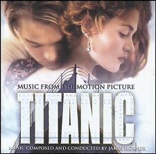 TITANIC - SOUNDTRACK CD ~ JAMES HORNER / CELINE DION ~ LEONARDO DiCAPRIO *NEW