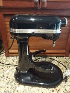 KitchenAid Professional HD Series Mixer, 5 Quart, 475W, KG25H7XOB, Onyx Black