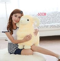 24'' Giant Large Big Goat Lamb Sheep Stuffed Animals Plush Soft Toys Doll Gift