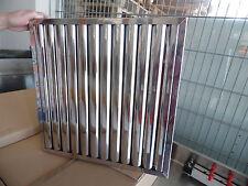 "Flammenschutzfilter Typ A 500 x 500 x 25mm Edelstahl  Gastro Typ ""A"" Wandhaube"