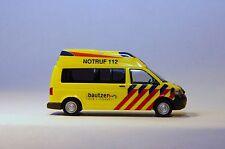 Rietze 51880 VW T5 Ambulanz Mobile Hornis Baltic Rettungsdienst Radeberg 1:87 H0