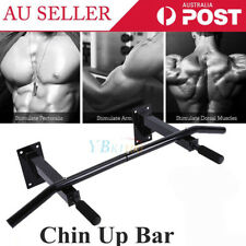 New Wall Mounted Chin Up Pull Up Bar Trainer Power Training Gymnastic Suspension