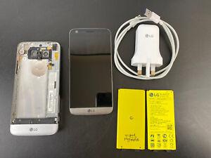 "LG G5 - H850 -Titan - 4G - 32GB - 5.3"" - HD - WIFI GPS 16MP + 3 Battery + more"