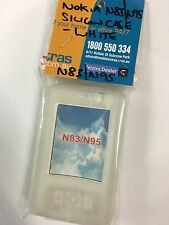 Nokia N95 Silicon Case in White SCC4112 Brand New & Sealed in Original packaging