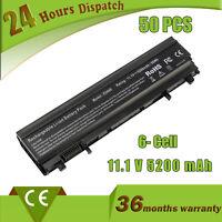 Lot 50 Dell Latitude E5440 E5540 Battery Type VV0NF 451-BBIE 11.1V 65Wh 6 Cells