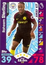 Manchester City 2016-2017 Season Soccer Trading Cards