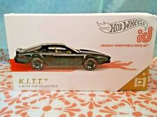 HOT WHEELS id K.I.T.T. CAR LIMITED RUN COLLECTIBLE Series 1 New Release