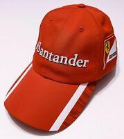 PUMA Scuderia Ferrari Formula 1 F1 Santander Hat Cap Red Adjustable