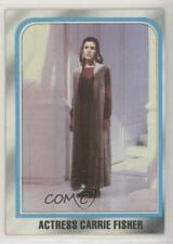 1980 Topps Star Wars: The Empire Strikes Back #225 Carrie Fisher Actress z9p