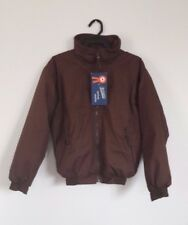 """Loveson Equestrian Brown Fleece Lined Riding Jacket - Size Small (40"""") - NEW!"""
