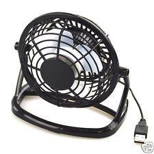 Kompakt Ventilator Tisch Kühler Mini Fan in schwarz USB perfekt für den Sommer