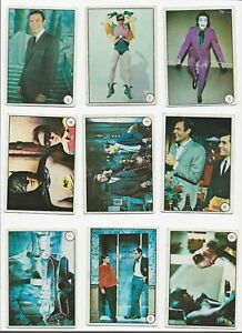Scanlens Batman Laffs set of 55 cards 1967 fair to very good