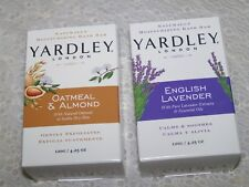 Yardley of London Soap 2 Bars 1 Lavender 1 Oatmea&lAlmond  Each Weighs 4.25 oz**