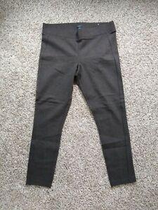Ann Taylor Factory Womens Size Large L Dress Pants Slacks Dark Brown NICE