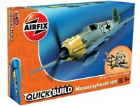 AIRFIX® QUICK-BUILD MESSERSCHMITT 109 MODEL AIRCRAFT KIT WW2 MODEL PLANE J6001