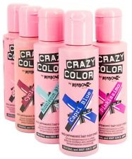 Crazy Color Renbow Semi-permanent Hair Colour Cream Dye 100ml Ruby Rouge