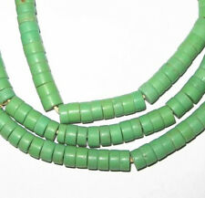 Old Nice Czech Matched Strand Bohemian Glass Disk- Spacers Trade Beads