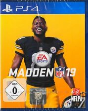 Madden NFL 19 - PlayStation 4 PS4  EA Sports Football Neu & OVP Deutsche Version
