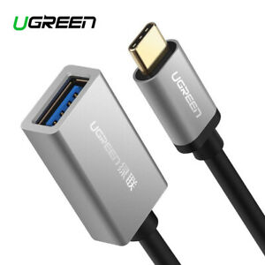 Ugreen USB Type C to USB 3.0 Aluminum OTG Cable Adapter - 15cm