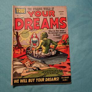 Strange World Of Your Dreams #1 GOLDEN AGE Aug.1952 Kirby Simon SCARCE (kf)