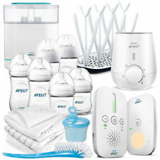 Philips Avent Komplett-Set 15-tlg. Babyflaschen Babyphone Flaschenwärmer uvm.